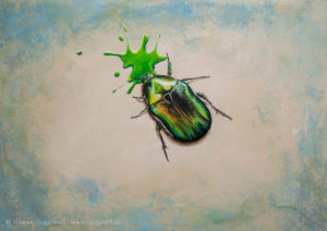 Grünzeug - Acrylmalerei auf Leinwand 70x100cm - Thomas Guggemos