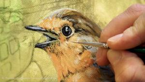 Details des Vogels