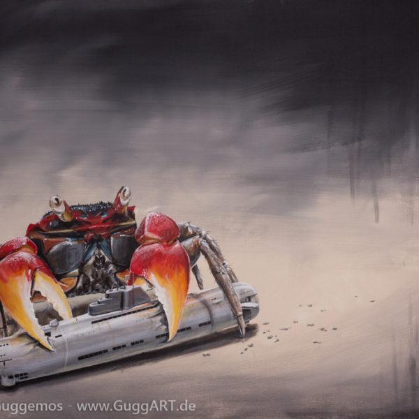 DRUCKAUSGLEICH - Acrylmalerei auf Leinwand 100x70cm (acrylics on canvas), Thomas Guggemos