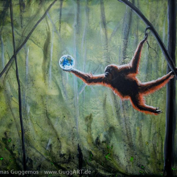 FRÜCHTE DES LEBENS - Acrylmalerei auf Leinwand 100x80cm (acrylics on canvas) - Thomas Guggemos