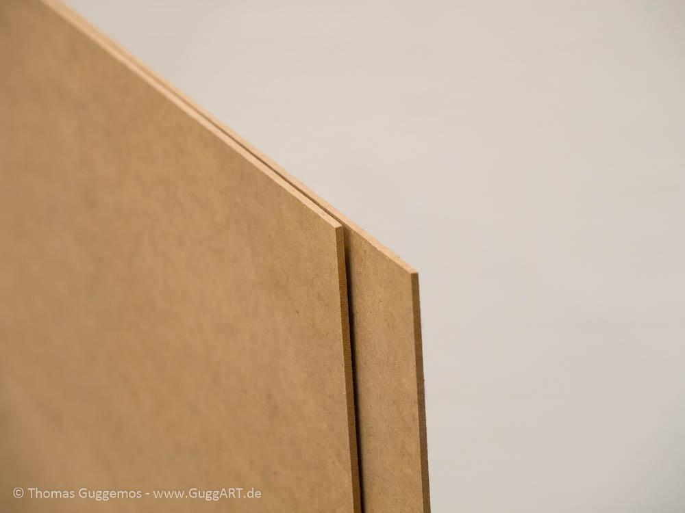 Hartfaserplatte, Holz