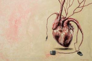 Update - Acrylmalerei auf Leinwand 50x70cm - Thomas Guggemos