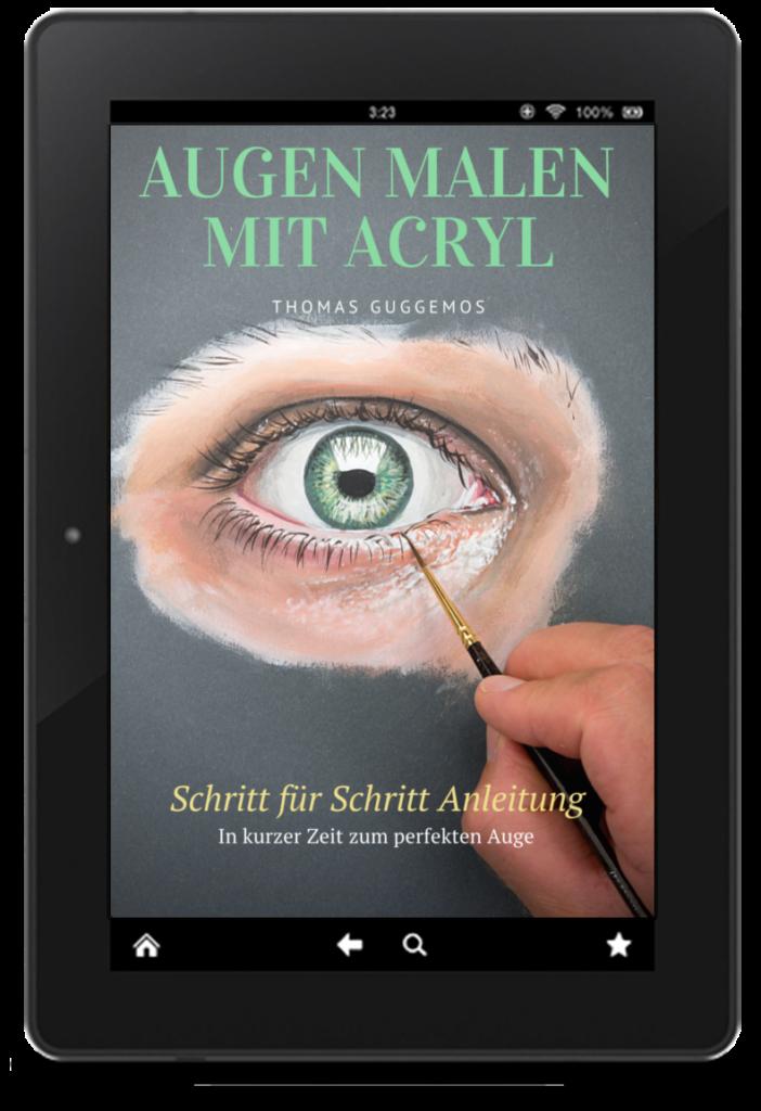 Augen malen mit Acryl Anleitung