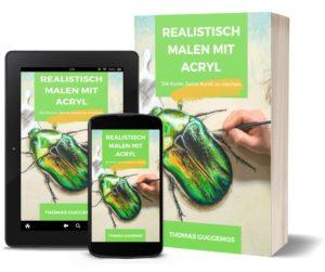 eBook - Realistisch malen lernen mit Acryl