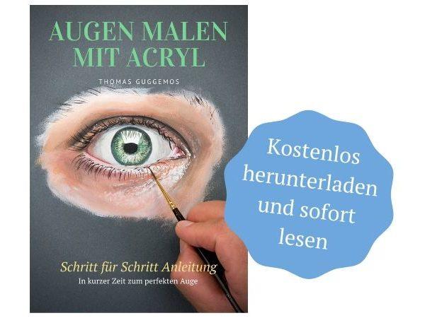 Augen malen mit Acryl